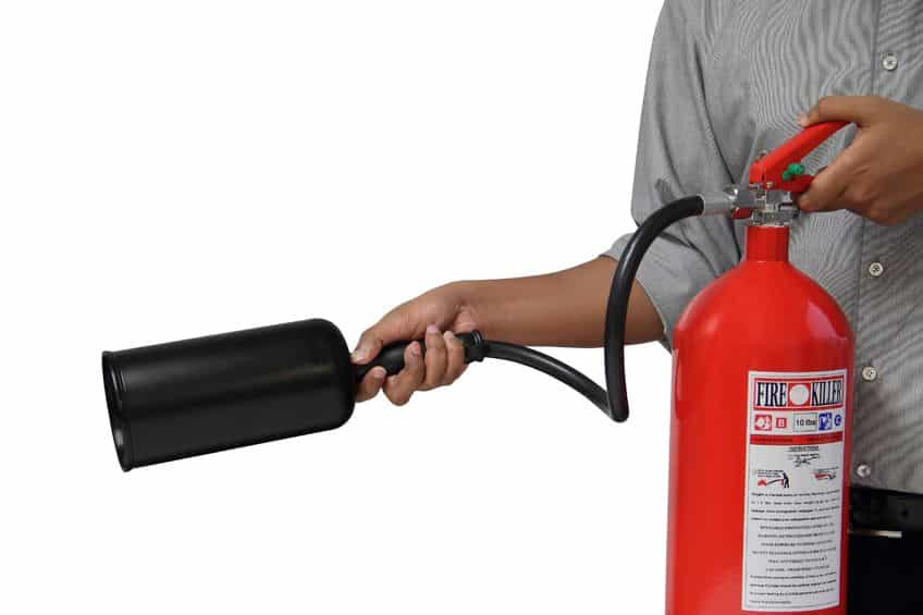 Preventing Fire Damage: Using a Fire Extinguisher